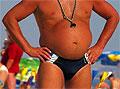 Жир в области живота у мужчин позволяет быть им лучшими любовниками