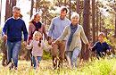 Прогулки на природе укрепляют семейные связи